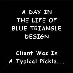 A Day In The Life Of Blue Triangle Design